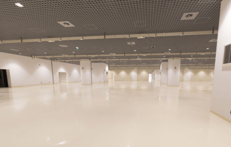 Exhibition spaces 1 & 2